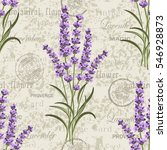 seamless floral pattern with... | Shutterstock .eps vector #546928873