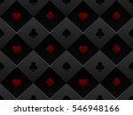 black and red seamless pattern... | Shutterstock .eps vector #546948166