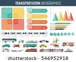 transportation infographics set.... | Shutterstock .eps vector #546952918