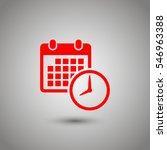 date icon | Shutterstock .eps vector #546963388