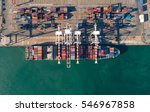 container container ship in...   Shutterstock . vector #546967858