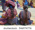 scene with indigenous women...   Shutterstock . vector #546974776