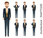 businessman character. people... | Shutterstock .eps vector #546975100