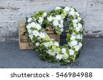 Modern Funeral Wreath Made Of...