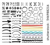 marker pen written vector... | Shutterstock .eps vector #546988216