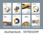 business vector. brochure... | Shutterstock .eps vector #547001059