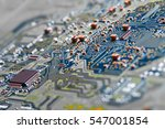 electronic circuit board close... | Shutterstock . vector #547001854
