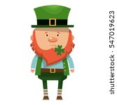 saint patrick. national irish... | Shutterstock .eps vector #547019623