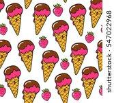 pop art seamless vector pattern ...   Shutterstock .eps vector #547022968