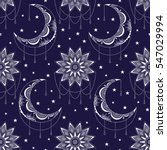vector seamless pattern with... | Shutterstock .eps vector #547029994