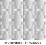 decorative panel with a floral... | Shutterstock .eps vector #547030078