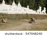 sat taw yar pagoda mandalay... | Shutterstock . vector #547048240