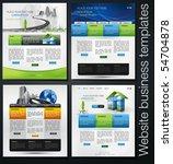 exclusive website business...   Shutterstock .eps vector #54704878