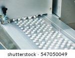 tablet pill production | Shutterstock . vector #547050049