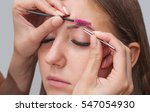 master makeup corrects  and... | Shutterstock . vector #547054930