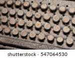 old typewrite   Shutterstock . vector #547064530
