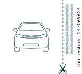 car line icon | Shutterstock .eps vector #547069624