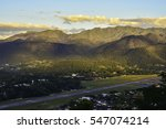high angle view of mae hong son ... | Shutterstock . vector #547074214