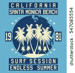 california surf session ... | Shutterstock .eps vector #547085554
