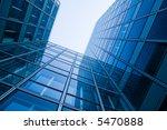blue glass skyscraper | Shutterstock . vector #5470888