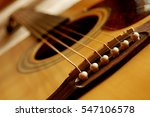 Detail Of Guitar Strings