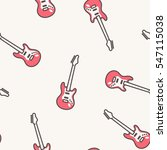 vector music pattern with... | Shutterstock .eps vector #547115038