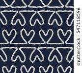 seamless nautical romantic rope ...   Shutterstock .eps vector #547118596