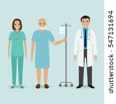 hospital staff concept. doctor  ... | Shutterstock .eps vector #547131694