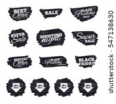 ink brush sale stripes and... | Shutterstock .eps vector #547138630