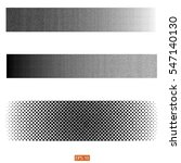 set vector halftone background. ... | Shutterstock .eps vector #547140130