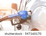 fuel nozzle to refill fuel in... | Shutterstock . vector #547160170
