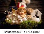 White Baby Angel Christmas...