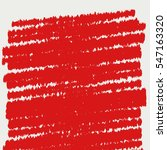 distress red crayon texture.... | Shutterstock .eps vector #547163320