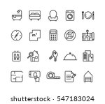 simple set of real estate...   Shutterstock .eps vector #547183024