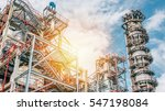 industrial zone the equipment... | Shutterstock . vector #547198084