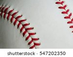 baseball background close up... | Shutterstock . vector #547202350
