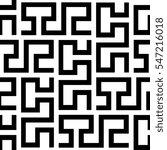 seamless geometric pattern by... | Shutterstock . vector #547216018