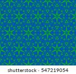 ornamental seamless pattern.... | Shutterstock .eps vector #547219054
