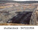 An Open Pit Coal Mine