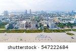 city of miami beach florida... | Shutterstock . vector #547222684
