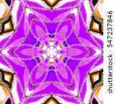 melting colorful symmetrical... | Shutterstock . vector #547237846