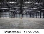 empty modern warehouse for...   Shutterstock . vector #547239928