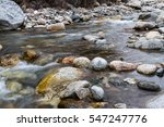 During A Mountain River Among...
