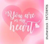 love quote   Shutterstock .eps vector #547258906