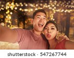 young asian couple taking...   Shutterstock . vector #547267744