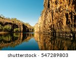 katherine gorge on an early...   Shutterstock . vector #547289803