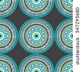 seamless african pattern with... | Shutterstock .eps vector #547295680