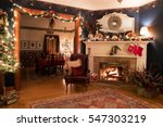 Victorian Christmas Setting...