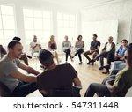 people meeting seminar office... | Shutterstock . vector #547311448