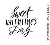 vector valentines day vintage... | Shutterstock .eps vector #547315270